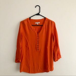 Orange Banana Republic Blouse